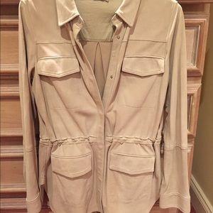 Vince suede jacket, size L